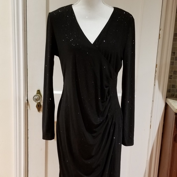 Calvin Klein Dresses Black Evening Dress Size 12 Poshmark